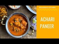 Try this easy and delicious Achari Paneer/ cottage cheese is simmered in a gravy of Pachranga pickle masala and fennel seeds. Wheat Lachha Paratha or Jeera Rice for a weekday lunch/dinner. Homemade Paneer Recipe, Paneer Recipes, North Indian Recipes, Indian Food Recipes, Ethnic Recipes, Spicy Recipes, Cooking Recipes, Achari Paneer, Bhurji Recipe