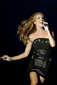 Celine Dion. Yes she's a diva and she has facial expressions, but, I love Celine and the drama. .. My Heart Will Go On, Because You Love Me, Tell Him and I'm Alive.