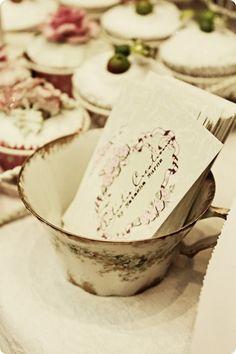 Take a Card - Tea Cup