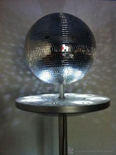 Bola de discoteca con luz / Vintage en todocoleccion