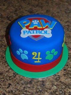 Image result for paw patrol cakes                              …