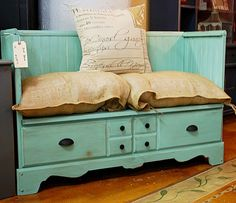 Really awesome repurposing ideas- shutters, dressers, frames, old luggage, tshirts, clothes pins, denim, doilies