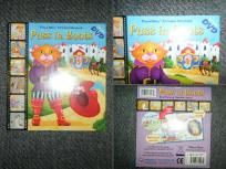 Puss in Boots Book /Dvd New!