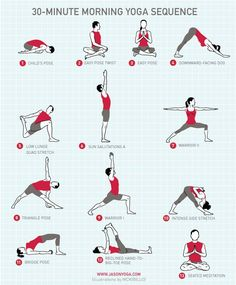 Good morning friends! Let's start our morning off right with a light #yoga routine.