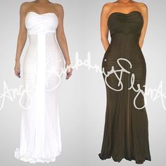 """Maxie Maxi"" as mentioned on previous post is also available in white and olive  available at www.angelbrinks.com"