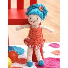 Doll, #crochet, free pattern, amigurumi, stuffed toy, #haken, gratis patroon (Engels), pop, knuffel, speelgoed