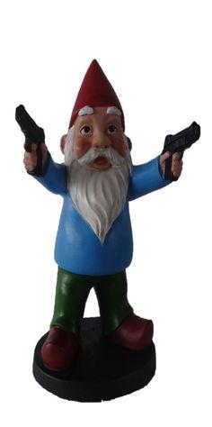 Amazon.com - Funny Guy Mugs Combat Gnome Statue -