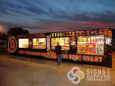 Discount Fireworks Stand Container Wrap - http://signsforsuccess.biz/discount-fireworks-stand-container-wrap/