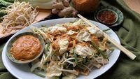 Gado Gado, Tofu, Broccoli, Whole Food Recipes, Chicken, Meat, Ethnic Recipes, Cubs