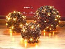 Die 47 Besten Bilder Von Zapfen Christmas Ornaments Pine Cones