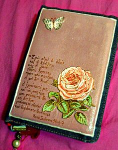 #Bible #decoupage #John_14_6_7 #rose #painting #DIY https://www.facebook.com/pages/Dimitras-Retro-Decoupage/532590893485180