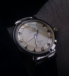 Omega Constellation Grand Luxe 18K Gold #Omega #Gold #Menswear #Womw #Watches #Gold #Vintage #Piepan #Grandluxe #Constellation - omegaforums.net