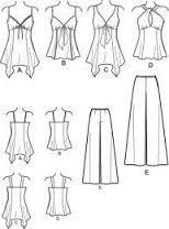 Resultado de imagem para palazzo pants patterns free