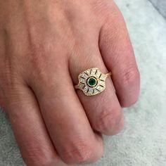 Cleopatra Emerald Ring - Gem Breakfast