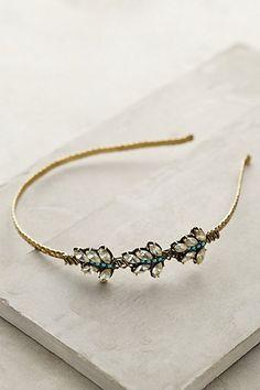 Baroque Leaf Headband - anthropologie.com #anthrofave