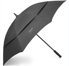 Shop the Bentley Golf Umbrella, in black, with a water-resistant canopy and comfortable rubber handle. Order from the official Bentley Collection website today. Golf 2, Golf Ball, Golf Umbrella, Design Language, Wet Weather, Golf Clubs, Collection, Gift Ideas