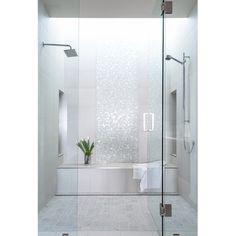 Emser Tile Lucente Random Sized Glass Mosaic Tile in Ambrato & Reviews | Wayfair