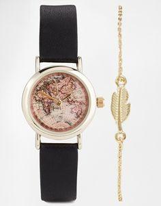 ASOS – Uhr und Armband im Set