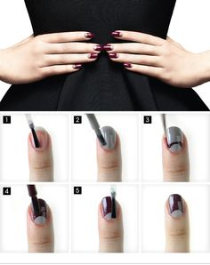 THE NEW MOON MANICURE - find out how to get the look on the #Sephora Glossy>