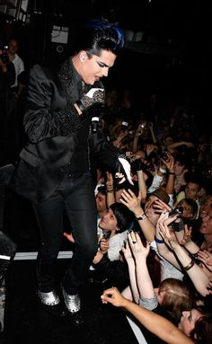Adam Lambert performs at G-A-Y on April 24, 2010 in London, England. (Photo by Jo Hale/Getty Images)