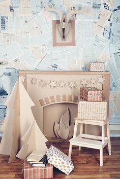 новогодние декорации из картона: 19 тыс изображений найдено в Яндекс.Картинках