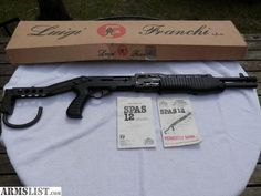 ARMSLIST - For Sale/Trade: SPAS 12 by Franchi (Special Purpose ...