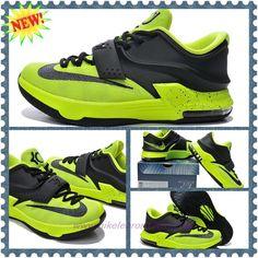 2015 Mens Nike KD 7(VII) Volt Mystic Green WMNS KDVII-055