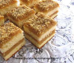 Prajitura cu mere si nuca | Retete de dulciuri | Bucataria Romaneasca