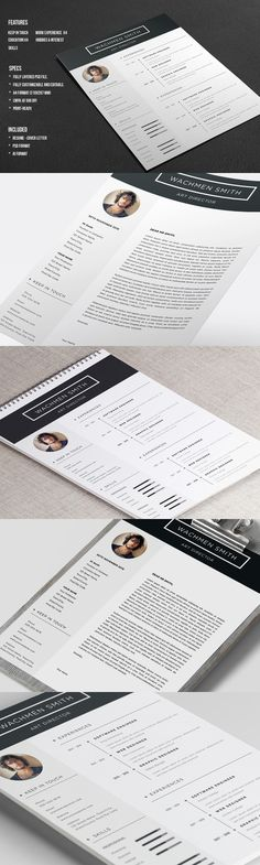 Landscape Resume CV Resume cv, Cv template and Stationery design - landscape resume