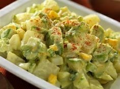 Wasabi & Avocado Potato Salad