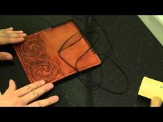 Leather Working Part 7 - YouTube