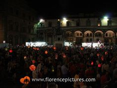 Rificolona in Piazza Santissima Annunziata Photo | Rificolona - Florence Pictures. The rificolona, or festival of the paper lanterns, takes place every year on the evening of September 7, on the eve of the Virgin Mary's nativity and religious celebrations in Piazza SS. Annunziata