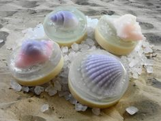 Soap  Mini Tide Pool Soaps  Guest Soaps  Party by SoapGarden, $6.50