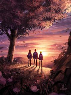 Armin, Eren And Mikasa, Aot Wallpaper, Wallpaper Space, Naruto Wallpaper, Attack On Titan Eren, Attack On Titan Fanart, Attack On Titan Aesthetic, Fanarts Anime