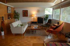 Midcentury living room #1950s #1960s #midcentury #livingroom