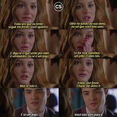 """""""...Porque eu a amo e não posso fazê-la feliz."""" (Chuck Bass) - Gossip Girl"""
