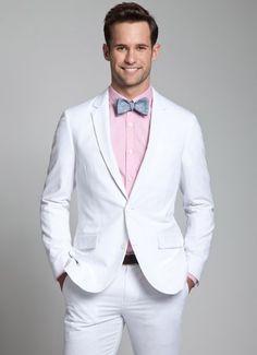 Seersucker is so awesome. - The Charleston Seersucker Suit - White by @Bonobos - $246.00