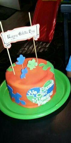 Gotcha day cake