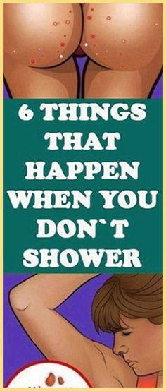 6 Things That Happen When You Don't Shower - Organic Remedies Tips Holistic Remedies, Holistic Healing, Natural Healing, Health Remedies, Natural Remedies, Health Guru, Gut Health, Health And Nutrition, Health Fitness