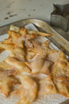 Easy Cinnamon Sugar Bunuelos... from store-bought tortillas!