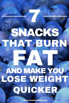 Fat Burning Snacks - These snacks that burn fat will blast the weight from around your belly! Grab a healthy snack on the go and keep your fat burning all day long. These belly fat burning snacks are also great to have before bed to speed up your metabolism without exercise!