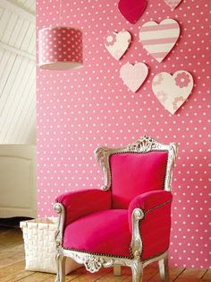 Pink Chair in a Pink Room