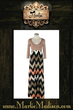 Shelby Dress in Taupe http://www.marliemadison.com/dresses