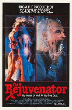 THE REJUVENATOR  Rich actress funds rejuvenating experiments--all you need is the serum from brains!