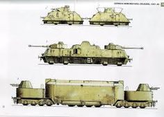 Whermacht Panzer Train
