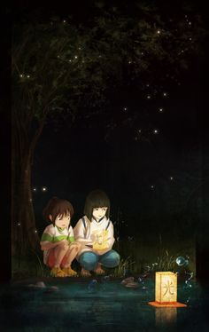 Spirited Away Chihiro Haku Studio Ghibli Hayao Miyazaki, Art Studio Ghibli, Studio Ghibli Movies, Totoro Ghibli, Spirited Away Art, Spirited Away Wallpaper, Howl's Moving Castle, Chihiro Y Haku, Kohaku