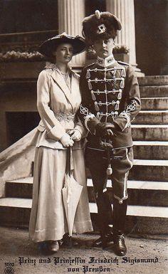 Prince Friedrich Sigismund and Princess Charlotte of Prussia, née Princess Charlotte of Saxe-Altenburg
