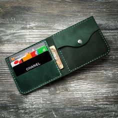Leather Wallet Pattern, Handmade Leather Wallet, Leather Card Wallet, Small Leather Wallet, Front Pocket Wallet, Slim Wallet, Small Wallet, Buy Bags, Women's Bags