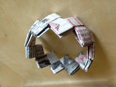 #Origami #Paper #Bracelet