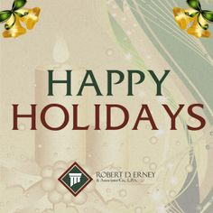 Happy #Holidays from Robert D. Erney & Associates! #Columbus #Ohio